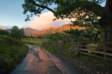 Sunrise at Little Langdale