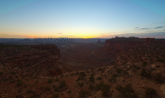 Canyonlands - sunset