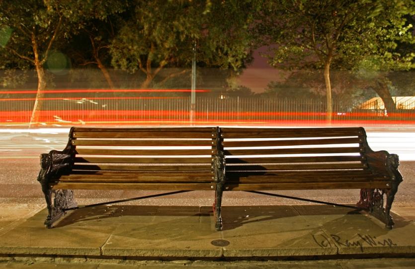 Chelsea Embankment Bench